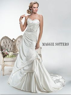 Coming soon to The Bridal Cottage: 'Hailey' from designer Maggie Sottero! #bridalcottagebride #maggiesottero #sotteroandmidgley