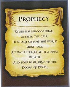 I have this memorized....ill randomly blurt out prophecies during the day sometimes..... :p