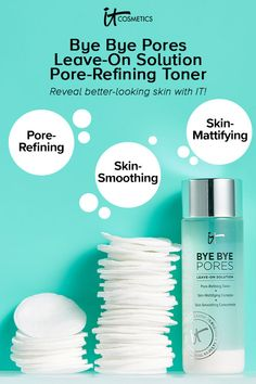 Minimize the look of pores while controlling oil and shine with this non-drying, mattifying face toner. Perfect for all skin types and ideal for oily skin. Toner For Face, Skin Toner, Oily Skin, Uneven Skin, Smooth Skin, The Glow Up, Acne Cream, Long Lasting Makeup, Skin Care Tips
