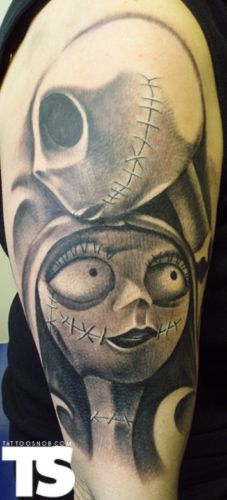 Jack and Sally :) yup this is my next tattoo!!