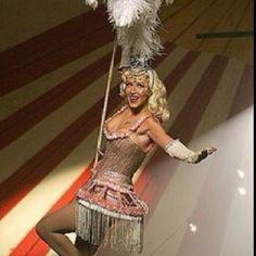 Vintage circus glamour.
