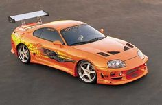 Toyota Supra from The Fast and the Furious