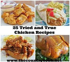 The Country Cook: 25 Tried and True Chicken Recipes