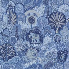 Fabric Love: Menagerie by Bailey & Griffin | The English Room
