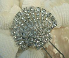 vintage wedding jewelry | vintage bridal jewelry hair pin