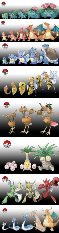What If Pokemon Didn't Evolve All At Once? Interesting concept....