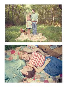 engagement pictures - because I'm sure you and Greg want to roll around in the mud!