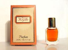 Vintage 1980s Forever Krystle by Carrington Parfums 1/8 oz Pure Parfum Mini Miniature in Box PERFUME