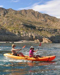 8 kayaks dobles a disposición