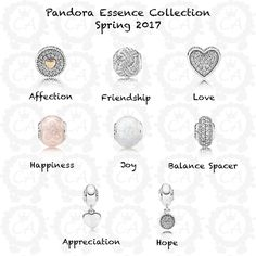 The Pandora Essence Collection is coming out with new designs for this season and it will debut with the rest of the Spring 2017 Collection. It will be available on March 16th, so not much longer now! I'm so glad to see this line expanding as I really...
