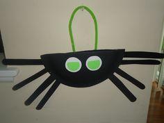 Halloween Kids craft: spider purse