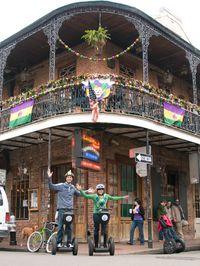 New Orleans Mardi Gras Segway Tour