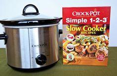 Win a brand new Crock Pot and cookbook!