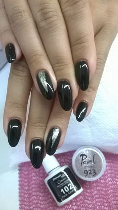 Semipermanent gel. Pearl Nails products. Done by Romina Mihaila :).
