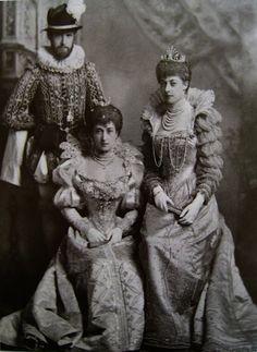 Queen Maude 1897