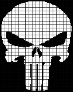Marvel's The Punisher (Chart/Graph AND Row-by-Row Written Instructions) – 01