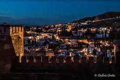Albaicín desde la Alhambra, Granada
