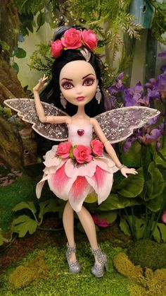 Fairy Dress Clothing For Ever After High and Monster High Dolls Monster High Clothes, Monster High Dolls, Monster High Custom, Unique Toys, Ever After High, Fairy Dress, Doll Toys, Doll Dresses, Disney Princess