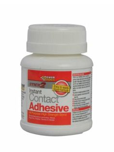 Everbuild Stick 2 All Purpose Contact Adhesive - http://www.hall-fast.com/fasteners-small-components/adhesives-tapes/adhesives-tape/contact-adhesives/everbuild-stick-2-all-purpose-contact-adhesive/