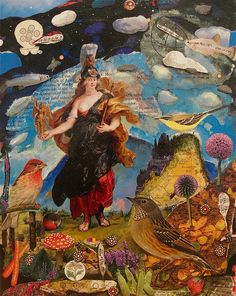 Landscape with Goddess by Gavin Lavelle, via Flickr