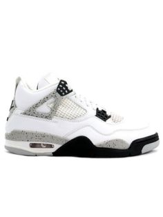 512085e2fc4a 136013 101 Nike Air Jordan 4 IV Retro 1999-White Black(Cement)