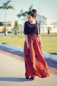 Blog da Lê-Moda Acessível: No look preto e laranja