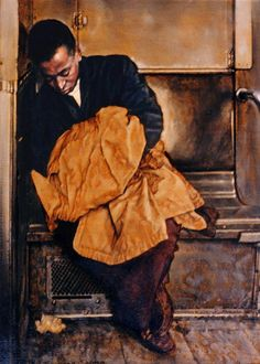 Bernard Safran (1924-1995) was an American high realist painter known for his penetrating portraits.
