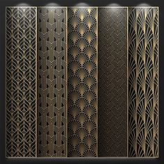 Pin by Artvander_design on модели декоративных перегородок in 2020 Bed Design, Door Design, Pattern Wall, Front Wall Design, Jaali Design, Cnc Cutting Design, Window Grill Design, Plafond Design, Partition Design