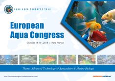 European #Aqua Congress October 18-19, 2018 Paris, France