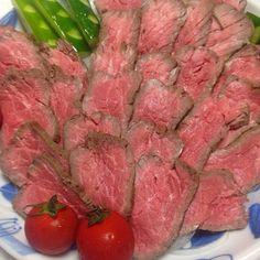 牛たたきっぽいけど - 13件のもぐもぐ - 炊飯器でローストビーフ by ykawami