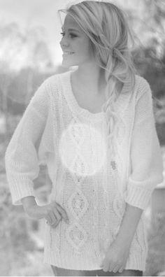 Loose Braids & Big Sweaters