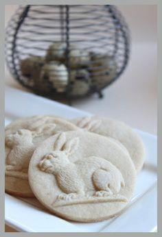 Springerle cookies, rabbit pretty nice for Easter.