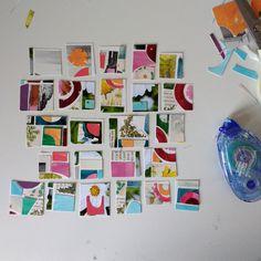 katielicht // little collages