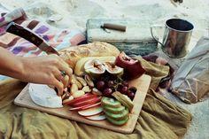 Beach picnic with @THE VISTA