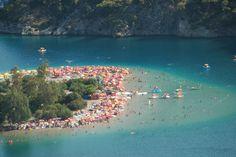 Blue Lagoon Oludeniz - Turkiye Blue Lagoon, Dolores Park, Most Beautiful, River, City, Nature, Outdoor, Outdoors, Naturaleza