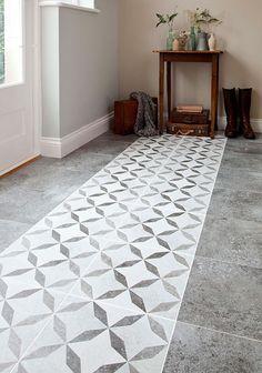 Victorian ART Deco Grey Feature Ceramic Floor Tiles 331x331 PER M2 | eBay