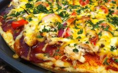 Vegetable Pizza Recipes, Grilled Pizza Recipes, Chicken Recipes, Easy Mexican Casserole, Easy Casserole Recipes, Taco Casserole, Barbeque Chicken Grilled, Apple Crisp Pizza, Apple Pizza
