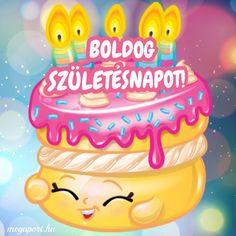 Boldog születésnapot! #születésnap Share Pictures, Animated Gifs, Name Day, Emoticon, Birthday Cake, Desserts, Smiley, Tailgate Desserts, Deserts
