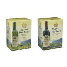Cliente: Vinhos Monte Del Sole Material: Bag-in-box   Agência: Alter Design - Freelance