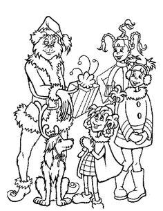 Dr Seuss Coloring Pages