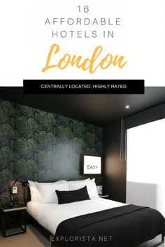 I've collected 16 affordable hotels in central London for your next trip.