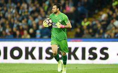 Lataa kuva Orestis Karnezis, Serie, maalivahdit, jalkapallo, jalkapalloilijat, Udinese