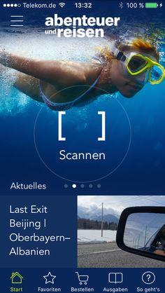Das neue Design unserer Augmented Reality-App - seit heute als Update verfügbar