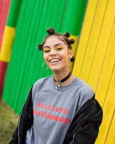 happy little island girl @stephsegarra For: @oliveandfrank 10 days left to VOTE 4 ME MAIRALY into the NyxFaceawards Finals link in bio - - - - - - - - #blackgirlsrock #bantuknots #caribbeangirls #kinkychicks #berrycurly #healthyhairjourney #afropunk #braidsgang #afrolatina #nyxfaceawardspuertorico2017