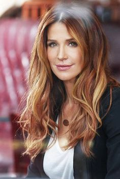 Montgomery Photo of Poppy Montgomery for fans of Poppy Montgomery.Photo of Poppy Montgomery for fans of Poppy Montgomery. Hair Color Auburn, Auburn Hair, Red Hair Color, Blonde Color, Poppy Montgomery Hair, Coiffure Hair, Super Hair, Ginger Hair, New Hair
