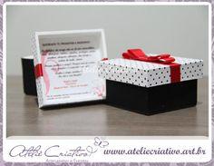 Convite de camento em caixinha http://convitesdecasamento.blog.br/