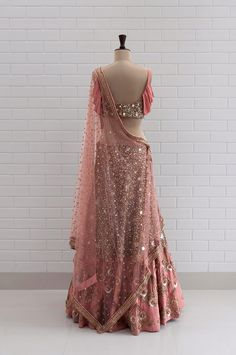 End to End Customization with Hand Embroidery & beautiful Zardosi Art by Expert & Experienced Artist That reflect in Blouse , Lehenga & Sarees Designer creativity that will sunshine You & your Party. Indian Wedding Outfits, Bridal Outfits, Indian Outfits, Bridal Dresses, Party Outfits, Bridal Shoes, Bridal Lehenga, Lehenga Choli, Mirror Work Lehenga
