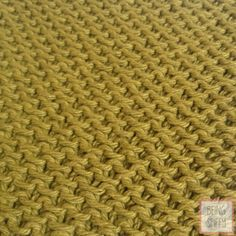 Textured Moss Knit DishclothPattern - Home - beingspiffy