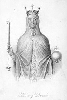 Adeliza of Louvain (c.1103-1151), 2nd Queen consort of Henry I of England: http://livingthehistoryelizabethchadwick.blogspot.co.uk/2010/01/adeliza-of-louvain-lady-of-english.html