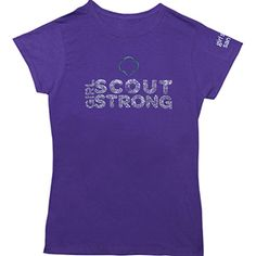 GSSD Girl Scout Strong Tee